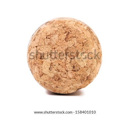 Close up of champagne cork. - stock photo