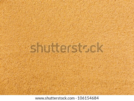 Close-up of clear beach sand. Background or texture - stock photo