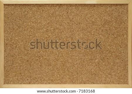 close-up of cork board - stock photo
