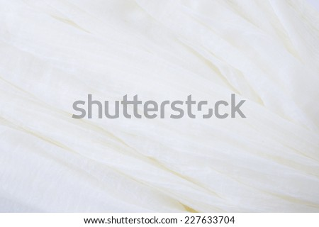 close up of cotton textile - stock photo