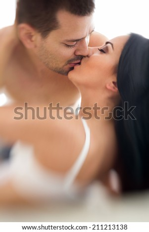 Close-up of couple having sex - shoot with lensbaby
