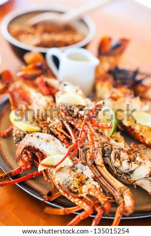 delicious seafood