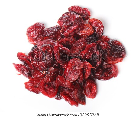 Close up of dried cranberry - stock photo