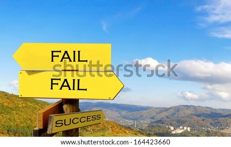 close up of empty signpost,  - stock photo