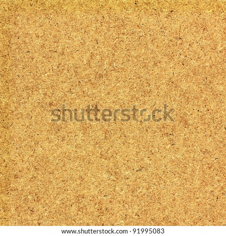 Close up of fiber board texture for background