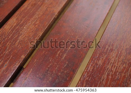 close up of floor made of wooden planks.