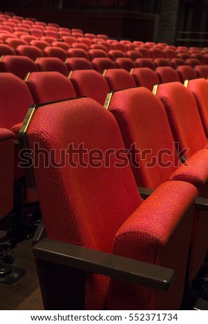 Close up of generic red theater seats & Theater Chair Stock Images Royalty-Free Images u0026 Vectors ... islam-shia.org