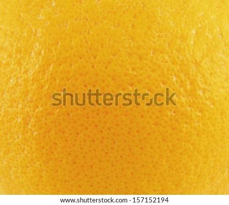 Close up of grapefruit or orange texture. - stock photo