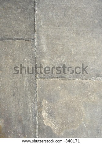 close up of gray stone pathway - stock photo