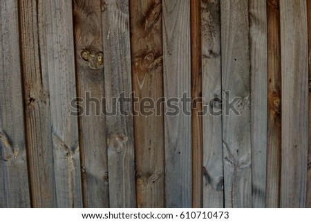 Rustic Wood Fence Background