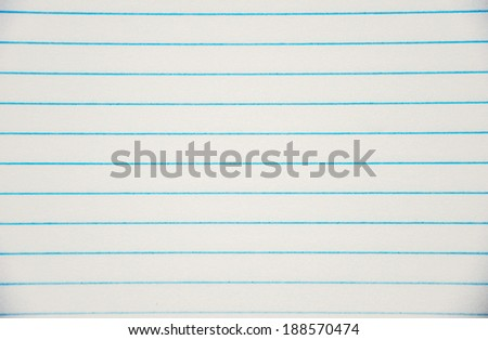 close up of line sheets in paper - stock photo