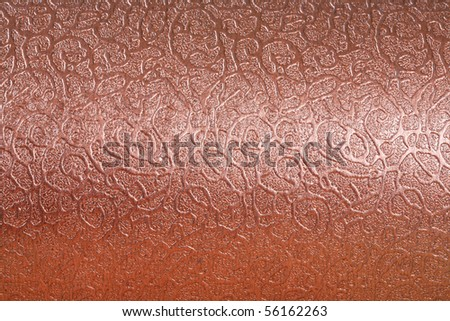 Close up of metal background texture - stock photo