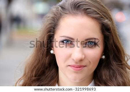 Natural beauty teen