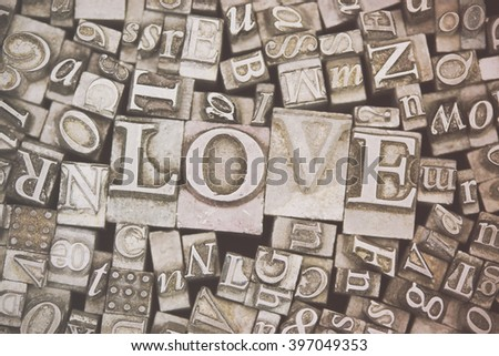 Old Metal Letters Metal Typesetting Stock Images Royaltyfree Images & Vectors