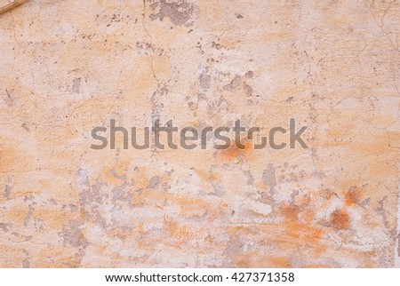 close up of old wall - textured surface - pastel tone