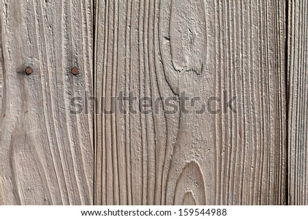 Close up of old wooden planks, texture background - stock photo