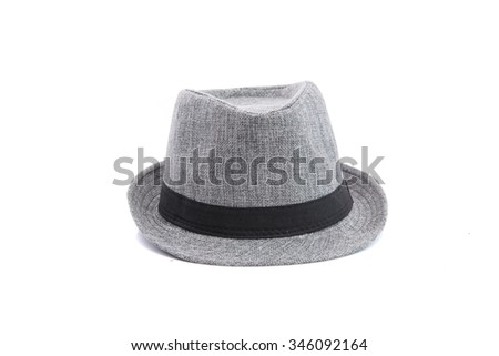 Close up of panama hat - stock photo
