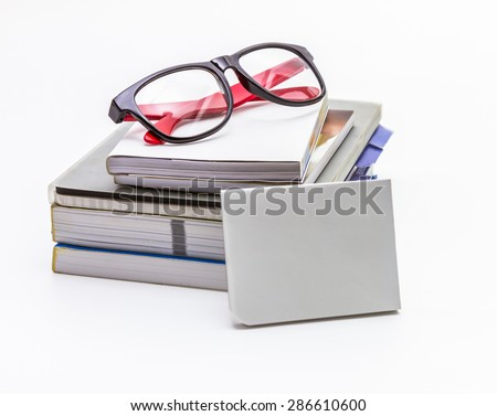 Close up of papers on white background for decorate design project. - stock photo