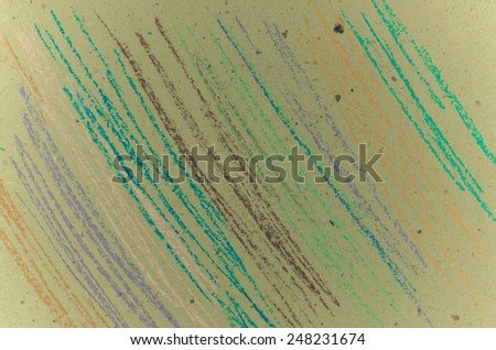 Close up of pastel lines for background - stock photo
