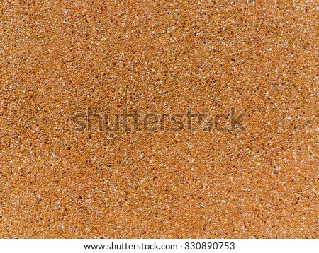 Close up of pebble stones wall texture background