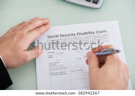 Social Security Images RoyaltyFree Images Vectors – Social Security Disability Form