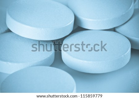 close up of pharmaceutical pills
