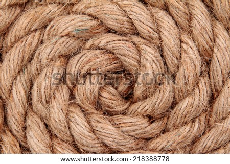 close up of rope part background  - stock photo