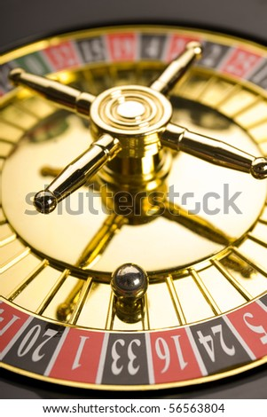 Close up of Roulette - stock photo