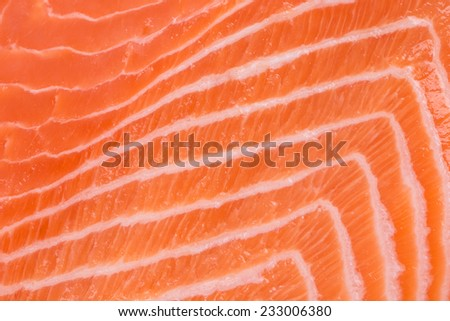 Close up of salmon fillet. Whole background. - stock photo