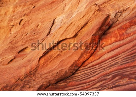 Close-up of sandstone.