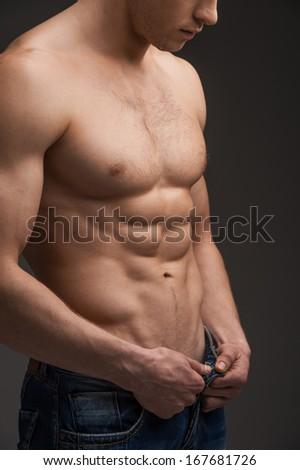 sexiest nude men close up