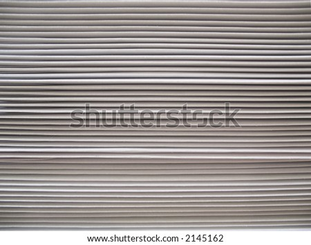 Close-up of stacked envelopes - stock photo