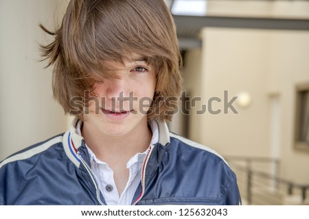 long haired teenage boy stock images royaltyfree images