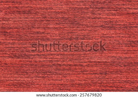 close up of thai red silk - stock photo