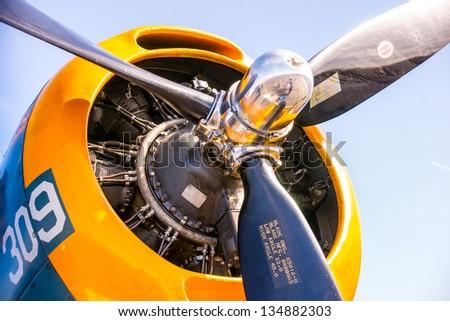 vintage propellor ww ii