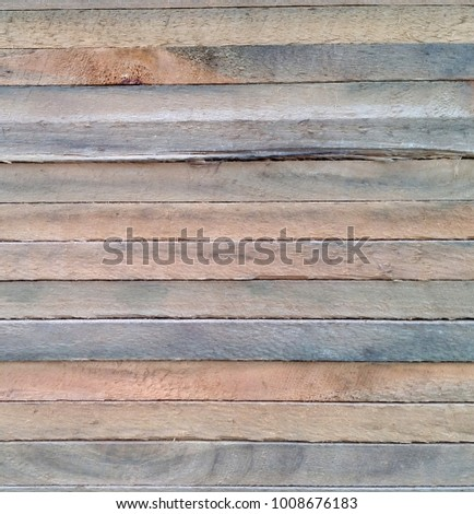 Close up of timber textures on cut timber