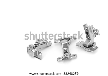 Close-up of various screws. Use for background
