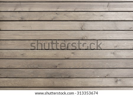 close up of wall made of wooden planks / Rustic wooden table background top view / seamless texture - stock photo