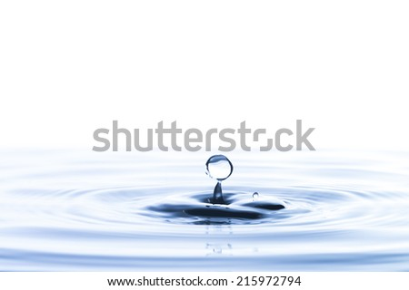 Close up of Water Drop