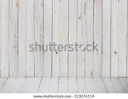 close up of white wooden background. empty. texture wood - stock photo