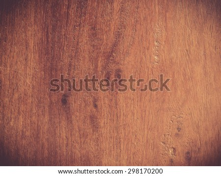 Close up of wood texture, Vintage style for background design