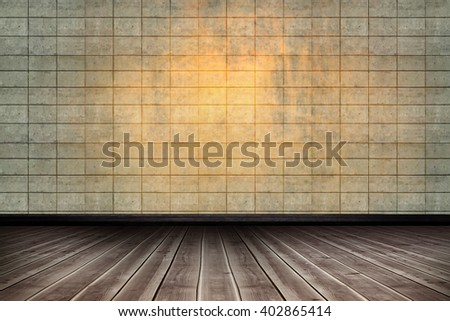 Close-up of wooden flooring against textured background