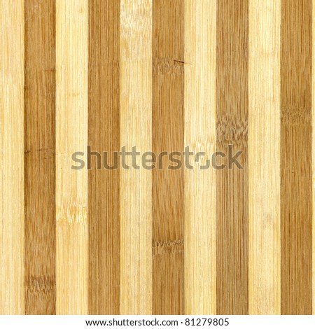 Close up of wooden texture striped bamboo. - stock photo