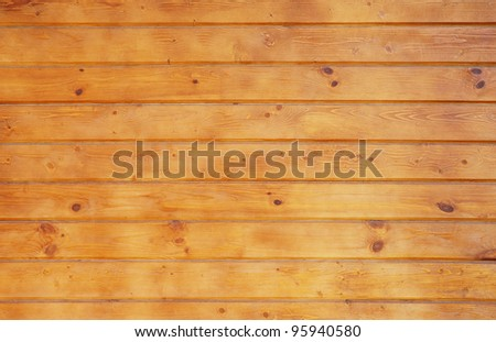 Close-up of wooden wall - stock photo