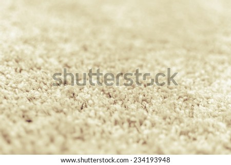 close up of Wool texture, selective focus - stock photo