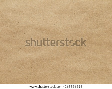 Close up of wrinkle brown bag texture