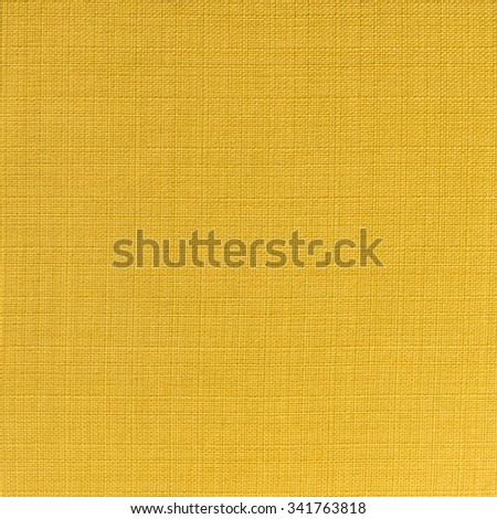 close up of yellow fabric pattern as background - stock photo