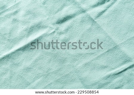 Close up old and dirty synthetic chamois cloth texture - stock photo
