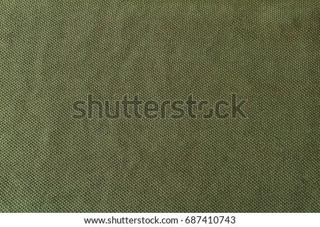 close up on green khaki texture