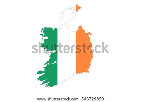 The background on the republic of ireland